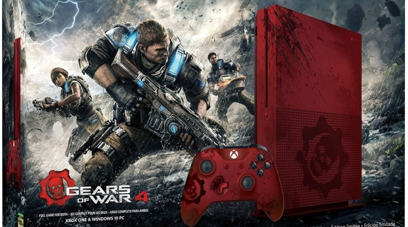 Xbox One S 2TB Gears of War 4 Bundle