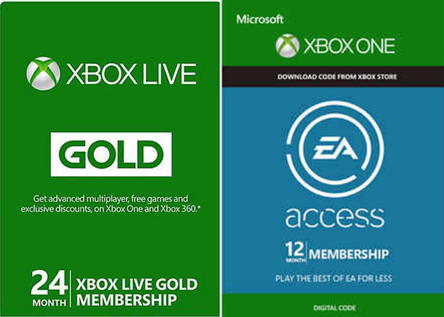 EA Access and Xbox Live Gold deals on newegg – ZeebFish