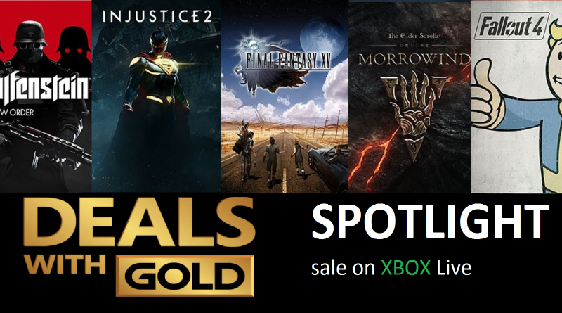 Xbox Live Deals with Gold and Spotlight Sales for this Week (Aug 22nd – Aug 28th)