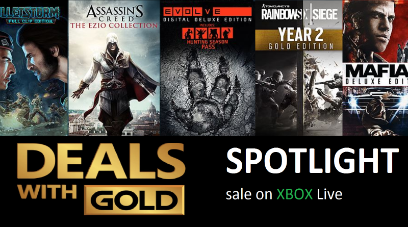 Xbox Live Deals with Gold and Spotlight Sales for this Week (Aug 29th – Sep 4th)