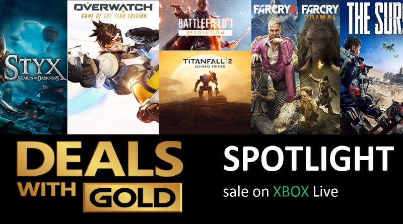 Xbox Live Deals with Gold and Spotlight Sales for this Week (Sep 19th – Sep 25th)