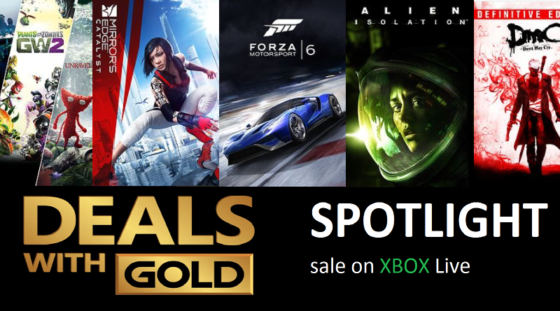 Xbox Live Deals with Gold and Spotlight Sales for this Week (Sep 5th – Sep 11th)