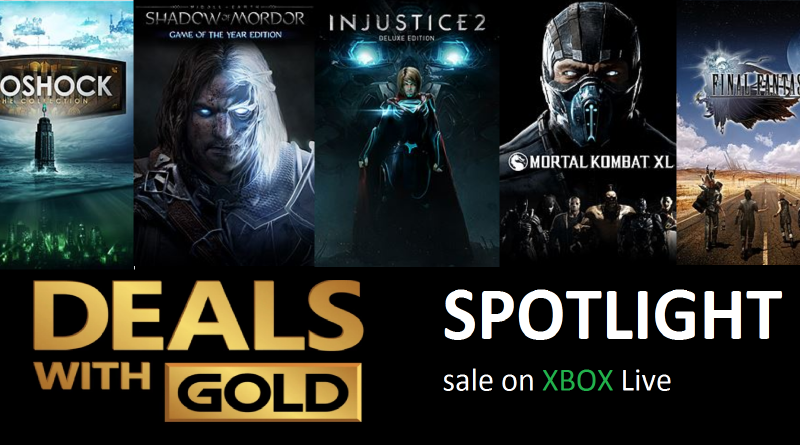 Xbox Live Deals with Gold and Spotlight Sales for this Week (Oct 3rd – Oct 9th)