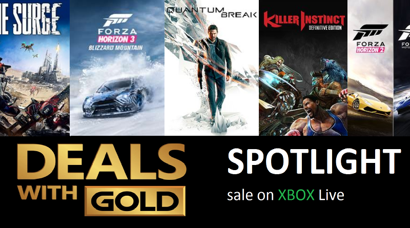 Xbox Live Deals with Gold and Spotlight Sales for this Week (Nov 7th – Nov 13th)